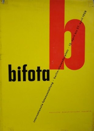 Bifota Ein Bildkatalog Internationale Fotoaustellung Berlin April 1958
