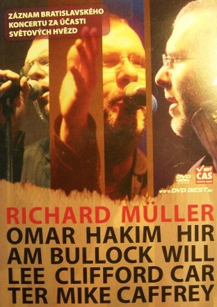 RICHARD MÜLLER A HOSTÉ  DVD
