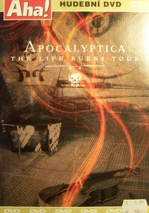 APOCALYPTICA : THE LIFE BURNS TOUR  DVD
